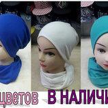 Женский набор шапка Хомутик