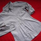 Фирменная рубашка,2 вида рукава,отличное состояние