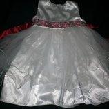 Нарядное платье 2-3г,