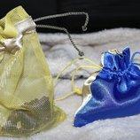 новые разные упаковочные подарочные мешочки хенд-мейд