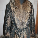 Кожаная куртка 2 в одном