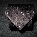 Мужской галстук в узорчик расписной из чистого шелка Jonelle Silk