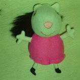 шикарная мягкая игрушка подружка свинки Пеппы Peppa Pig Овечка Сьюзи ABD Англия оригинал 17 см