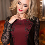 Шикарное платье миди . 44-46рр.