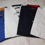 р.140-170 Рубашка-Трансформер Слим Подросток