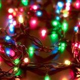 Гирлянда новогодняя 100 лампочек 8 режимов мигания гірлянда новорічна
