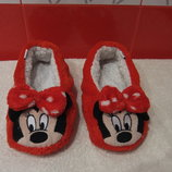 Теплые, мягкие тапочки Minnie Disney р.37/37,5. см.