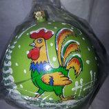 новогодние шары символ года петух на выбор