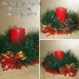Подсвечники новогодние - оригинальный декор для вашего дома
