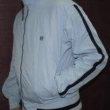 Брендовая ветровка Nike оригинал голубая курточка мужская