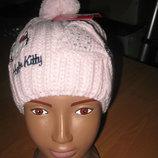 Детская демисезонная шапка для девочек Sun City р.52, 54