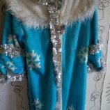 Костюм карнавальный Снегурочка Шапочка