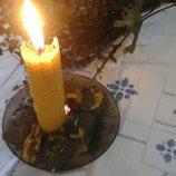 Свеча восковая Наполняющая .