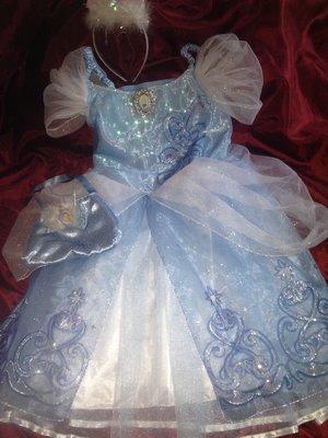 прокат карнавальное платье принцессы золушки