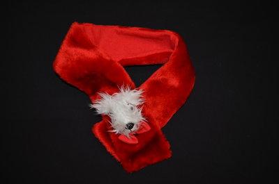 Забавный шарфик с собачкой