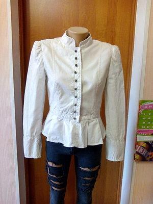 Женский пиджак с баской Zara р-р S
