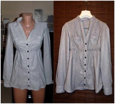 Модная рубашка в полоску Tally Weijl,р.xs