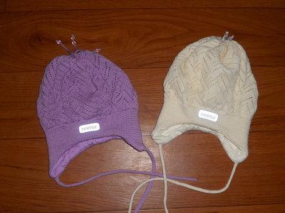 Две шапки reima р 46 в состоянии новых