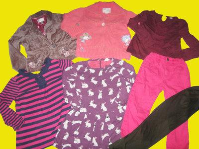 Пакет брендовых вещей для девочки 4-6лет,Next