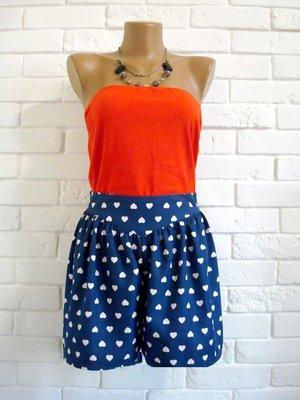 Шорты- юбка из атласа Next UK4 для миниатюрных в идеальном состоянии