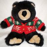 Мягкая игрушка коллекционный мишка медведь Teddy Bear в свитере редкий