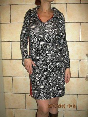 Очень стильное красивое платье 46 размера
