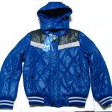 Красивая практичная теплая куртка Венгрия для мальчика 4-12 лет