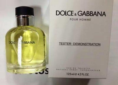 Dolce and Gabbana Pour Homme 125 ml Мужская парфюмерия