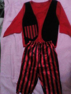 карнавальный новогодний костюм пирата на 3-5лет Rubies