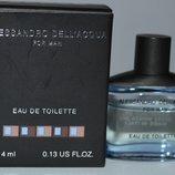 Alessandro Dell'Acqua Man eau de toliette миниатюра флакон 4 мл винтаж редкость