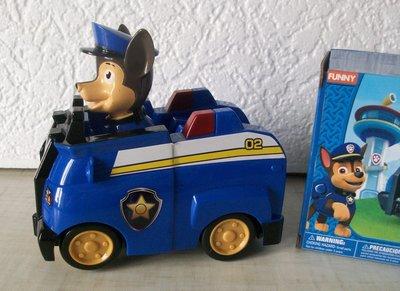Машина с героем м/ф Щенячий патруль Paw Patrol, на батарейке с музыкой