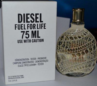 Fuel For Life Femme Diesel eau de parfum pour femme 75 мл оригинал редкость снятость