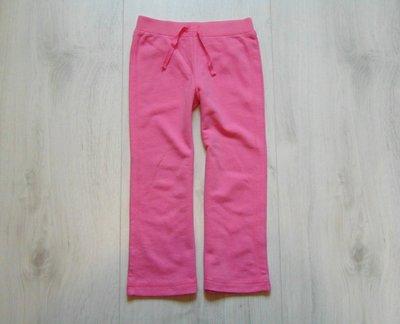 Спортивные штаники для девочки. Внизу немного расклешены. George. Размер 3-4 года