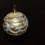 Новорічна кулька, новогодний шар