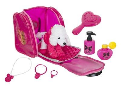 Набор Barbie дорожный для ухода за пуделем в сумочке 1680586