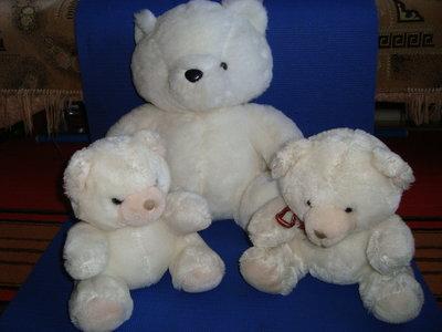Медведи, мягкие детские игрушки 3 шт.