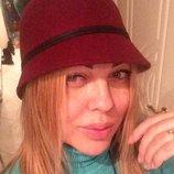 Шляпка фетровая бордо. Шляпа фетр шерсть 100%. Италия