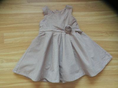 Фирменное нарядное платье Matalan малышке 1-1,5 года состояние отличное Сделать горячимНа главнуюРед