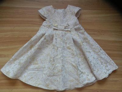 Фирменное нарядное платье George малышке 1.5-2 года состояние отличное