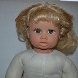 Большая коллекционная кукла Ксюша,60См,каркас,интерактивная