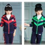 Тёплые спортивные костюмы для девочек в наличии