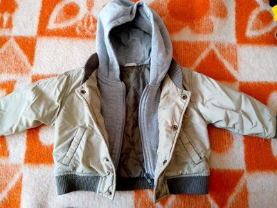 Продано: Куртка бомбер толстовка на мальчика до 1,5 лет