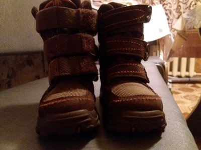 сапожки ботинки зимние Elefanten р.26 17 см по стельке