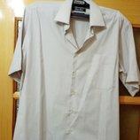 Мужская рубашка с коротким рукавом, импортная р. 48-50