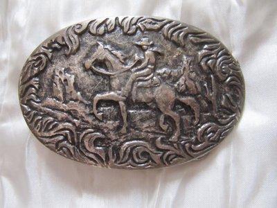 Пряжка на ремень Дикий запад ковбой
