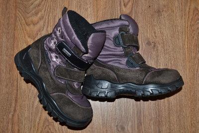 Р - 30 стелька - 19,2 см. Зимние ботинки DelTex Италия фирменные оригинал