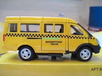 Машинка Газель металл такси, скорая, пожарная