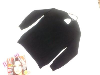 Базовый свитерок Blanco с вырезом на спине