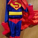 Прокат костюма Супермена р.120-130см