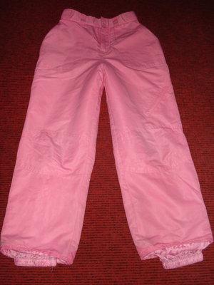 Фирменные лыжные штаны, размер европ. 10-12